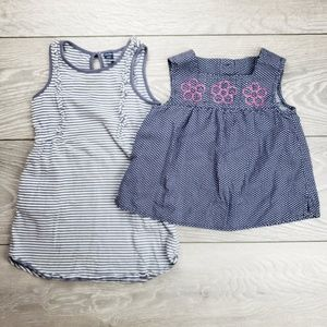 GAP Summer Baby Dress and Top Bundle 3T
